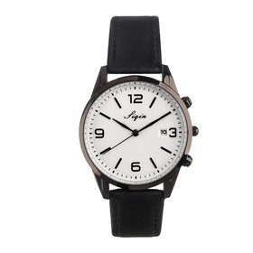 """Watch """"Capire"""", the strap is made of faux leather"""