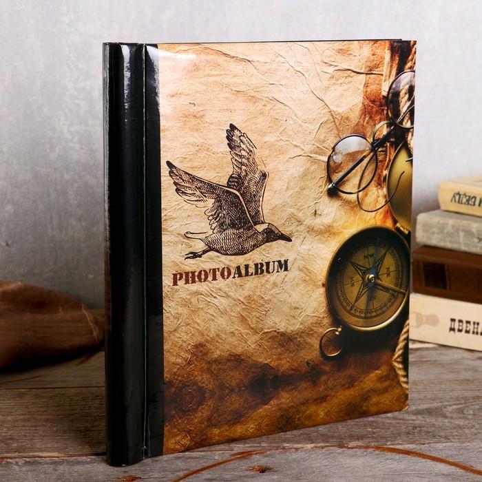 """Фотоальбом  магнитный 23х28 см. 20 листов, """"Путешествие"""" - фото 835805"""