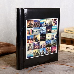 Photo album magnetic 23x28 see 30 sheets,