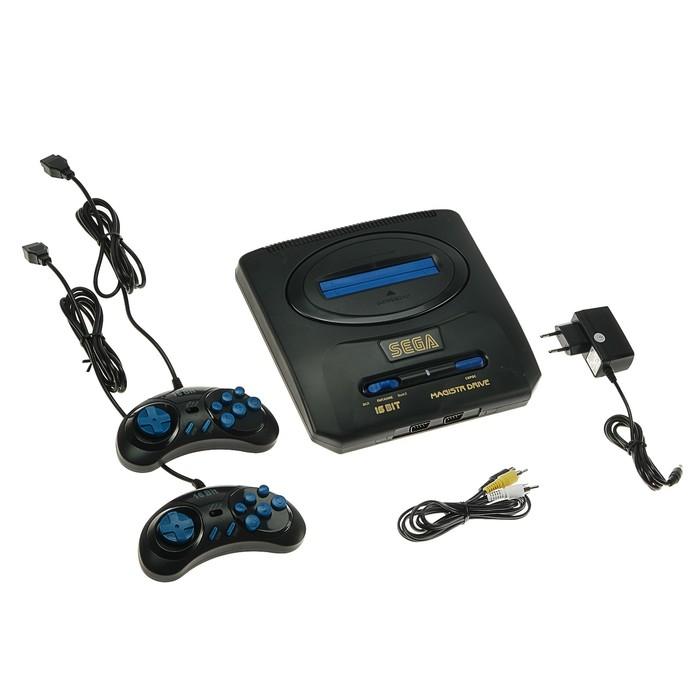 Игровая приставка Magistr Drive 2, 252 игры, 2 геймпада, AV-кабель - фото 733454