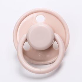 Пустышка латексная Happy Baby «Вишня», 0-6 месяцев, цвет pink