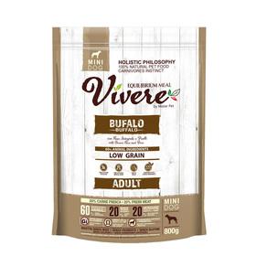 Сухой корм VIVERE для собак мелких пород, буйвол, 800 г