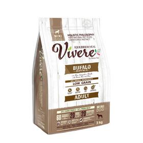 Сухой корм VIVERE для собак мелких пород, буйвол, 3 кг