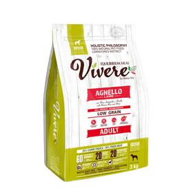 Сухой корм VIVERE для собак средних пород, ягненок, 3 кг