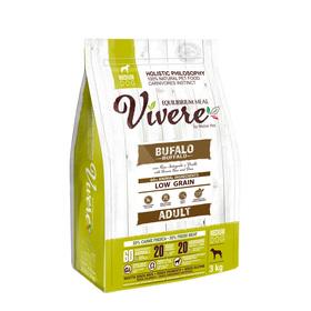Сухой корм VIVERE для собак средних пород, буйвол, 3 кг