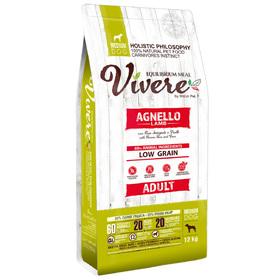 Сухой корм VIVERE для собак средних пород, ягненок, 12 кг