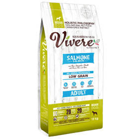 Сухой корм VIVERE для собак средних пород, лосось, 12 кг