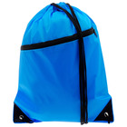 Bag for sports equipment 34х42 cm, with pocket, color mix