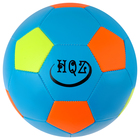 Soccer ball size 5, 280 g, mix color