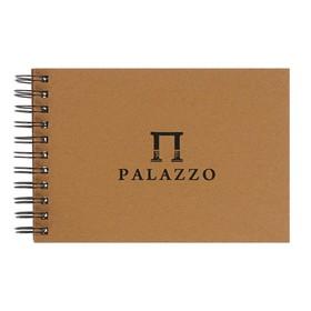 Блокнот-скетчбук А5, 35 листов Palazzo, крафт-бумага, 200 г/м²