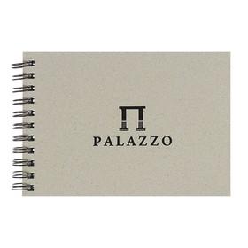 Блокнот-скетчбук А5, 60 листов Palazzo, блок рисовальная белая бумага, 200 г/м²