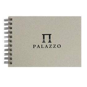 Блокнот-скетчбук А5, 60 листов Palazzo, блок с тиснением «Соты», цвет слоновая кость, 160 г/м²