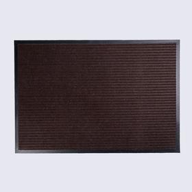 Mat vlagoutoychivye 2-band needle, 60x90 cm classic brown