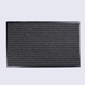 Mat vlagoutoychivye tufted melaniemelanie, 50 × 80 cm Stuttgart, black-grey