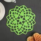 "A set of coasters under hot, 2 PCs 20 cm ""Lotus"", color MIX"