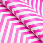 Glossy paper, zigzag, 50 x 70 cm purple