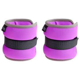 Weighting neoprene 0.5 kg (weight pair 1 kg), the color purple