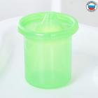 Поильник детский без нанесения с твёрдым носиком 200 мл, цвет зеленый - фото 105490767
