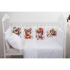 Набор подушек Крошка Я «Мишка» цвет белый 35х35 см -8 шт - фото 105555586