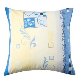 Наволочка Экономь и Я «Винтаж», размер 70х70 см, цвет синий, бязь Ош