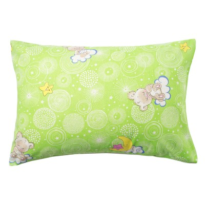 "Pillowcase Economize and I, ""Bear"" color.green, 50*70±3 cm,calico 100 g/m2"