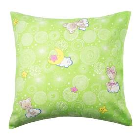 Наволочка Экономь и Я «Мишки», цвет зелёный, размер 70х70 см (±3 см), бязь
