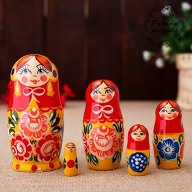"Doll ""Katerina"", a yellow sundress , doll 5, 10 cm"