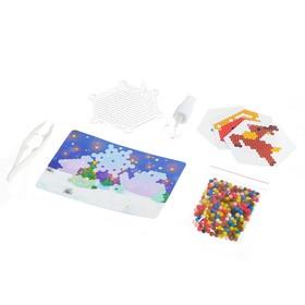 Аквамозаика с декорациями «Сани Деда Мороза», в пакете