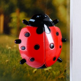 "Plastic thermometer window ""ladybug"" in the package"