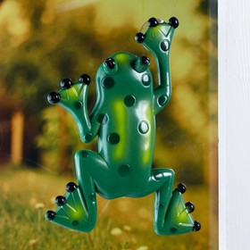 "Plastic thermometer window ""the Frog"" in the package"