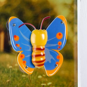 "Plastic window thermometer ""Butterfly"" in the package"