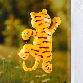 "Plastic thermometer window ""the Tiger""in the package"
