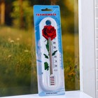 """Plastic thermometer room """"Flower"""" in blister (-10 +50)"""