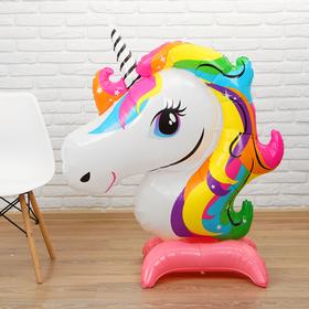 """Balloon foil 57"""" """"Unicorn,"""" on the legs"""