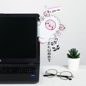 Панель для стикеров на компьютер 'Привет' Ош