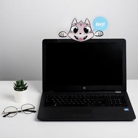 """Панель для стикеров на компьютер """"Котик"""""""