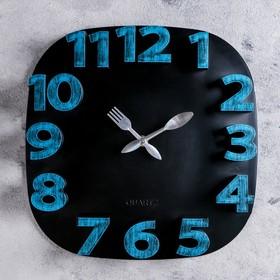 "Часы настенные, серия: Кухня, ""Модерн"" 30х30 см, дискретный ход"