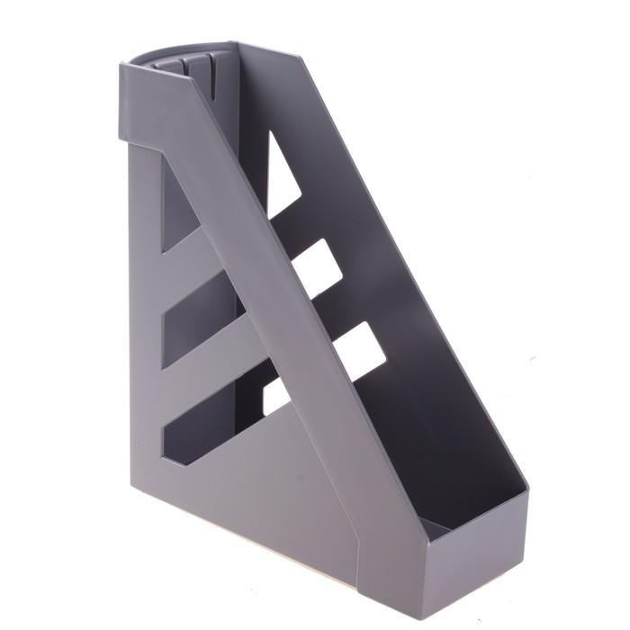 """Лоток для бумаг вертикальный """"Ультра"""", серый"""