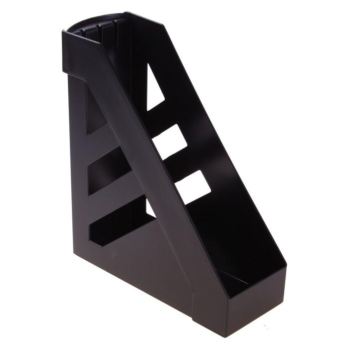 Лоток для бумаг вертикальный «Ультра», чёрный