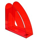 """Tray vertical """"2000 Luminofor"""" transparent red"""