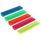 "Pencil case plastic ""Uni"" with a ruler"