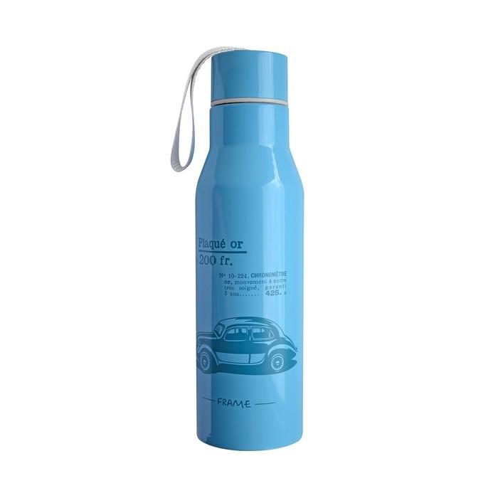 Бутылка для воды 500 мл, цвет синий
