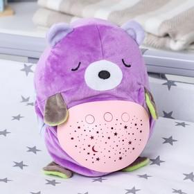 Игрушка - ночник «Мишка» мягкий, проектор