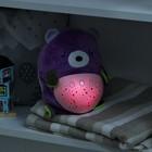 Игрушка - ночник «Мишка» мягкий, проектор - фото 105707556