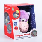 Игрушка - ночник «Мишка» мягкий, проектор - фото 105707561