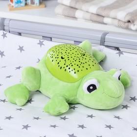 Игрушка - ночник «Лягушка» мягкий, проектор