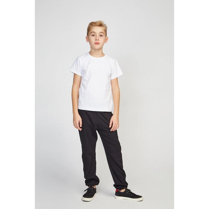 Футболка для мальчика, цвет белый, рост 146 см (72)