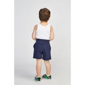 Майка для мальчика, цвет белый, рост 104 см (56)