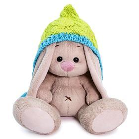 Мягкая игрушка «Зайка Ми в шапочке с кисточками», 15 см