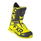 Ботинки FXR Helium Lite BOA с утеплителем, размер 45, жёлтый, чёрный